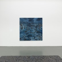 Irene Kopelman, 77 Colors of a Volcanic Landscape B (2016) and Puzzle Piece (2012) part of Irene Kopelman, a solo exhibition, Witte de With Center for Contemporary Art 2018, photographer Kristien Daem.