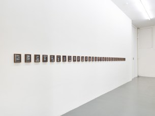 Mahmoud Khaled, Do You Have Work Tomorrow?, 2013, silver gelatin prints, courtesy the artist, Witte de With Center for Contemporary Art, 2018, photo by Kristien Daem.