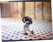 Teo Hernández, Rodaje de creación de la Primavera con Studio DM (1987). Fondo Teo Hernández, Centro Pompidou/MNAM/CCI - Biblioteca Kandinsky