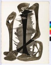 Agustín Cárdenas, Sans titre, s. d. Gouache et aquarelle sur papier 65×50 cm