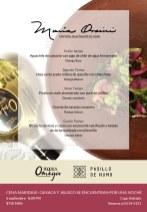 Omega Sour con un aguachile con chile de agua ferementado, uno de los platillos de esta cena-maridaje.