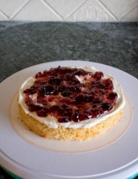 receta de naked cake de vainilla