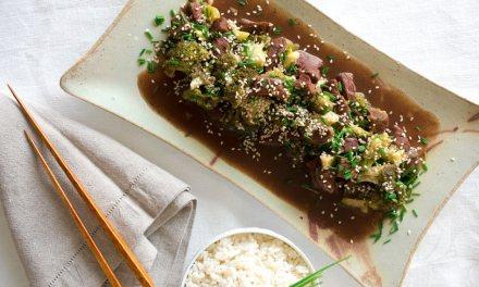 Beef broccoli casero