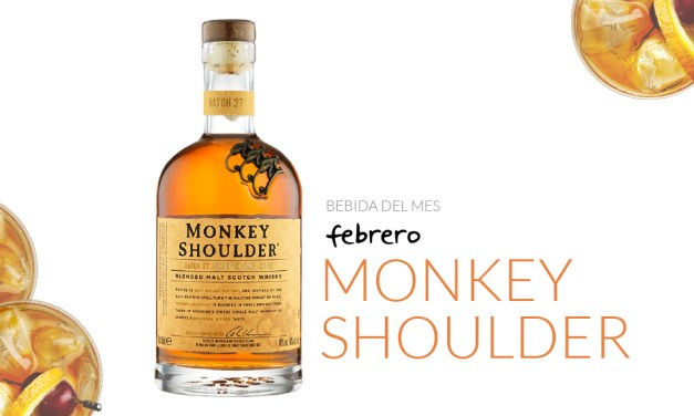 Febrero: Monkey shoulder