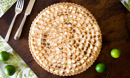Tarta de limón y merengue (key lime tart)