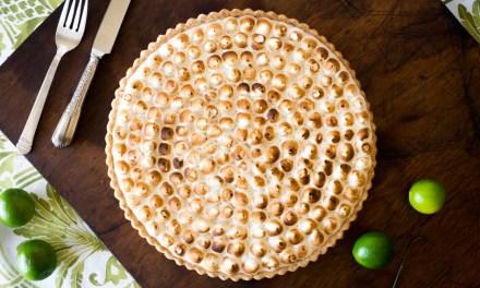 Tarta de limón y merengue (key lime tart)