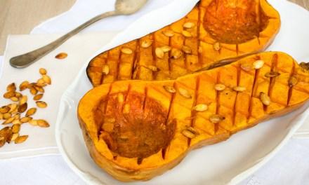 Calabaza mantequilla o butternut squash, al horno