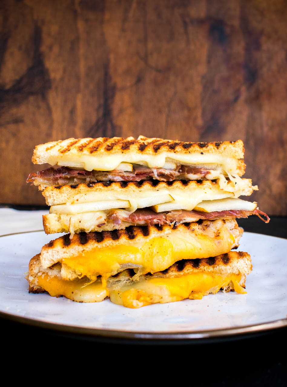 Grilled cheeses para derretirse