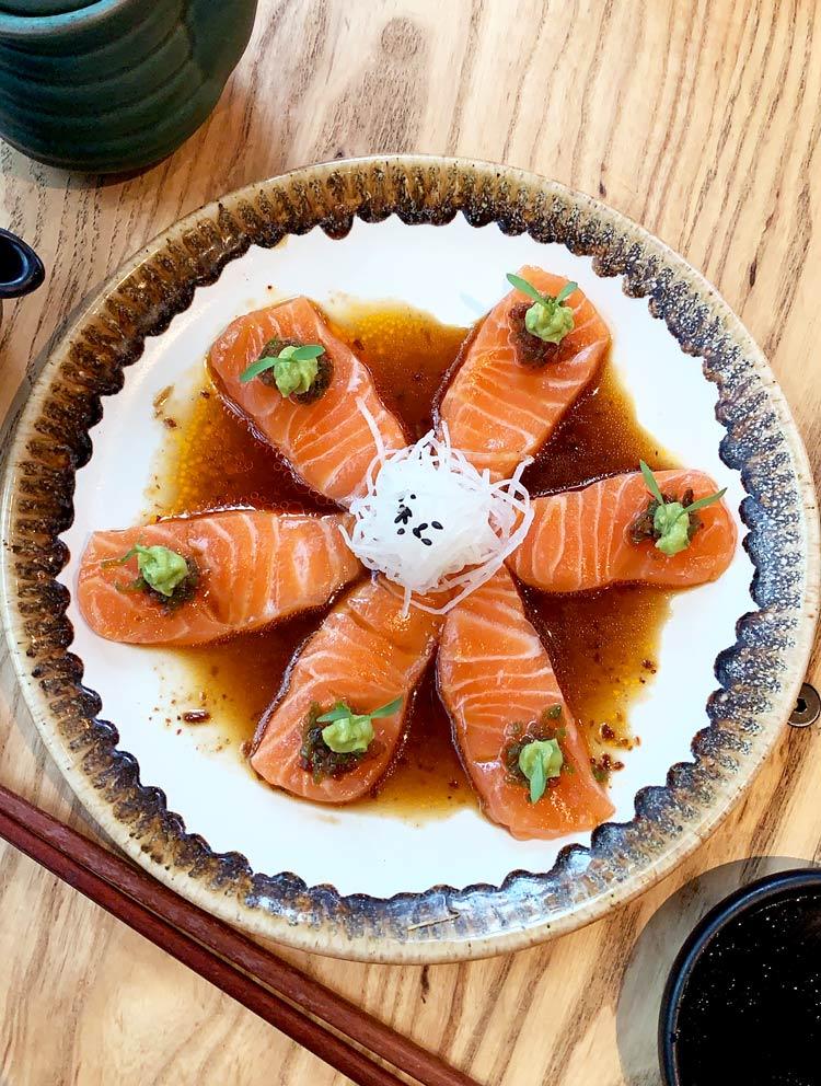 Oku, restaurante de comida japonesa en ciudad de méxico