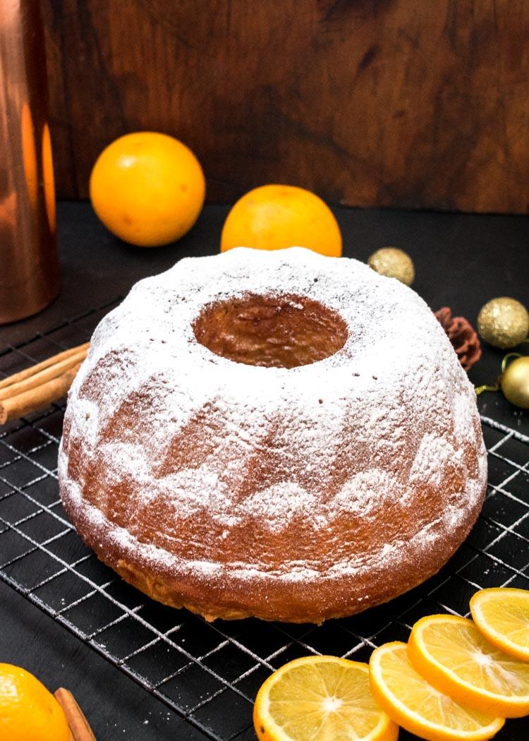 receta de panque de naranja en revista Maria Orsini