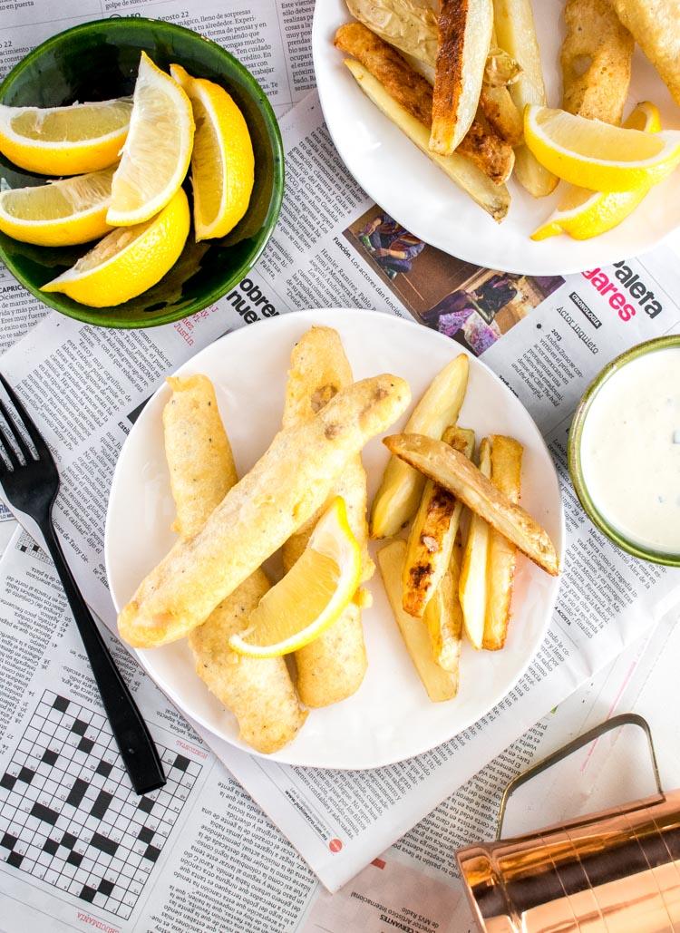 Como hacer fish and chips en casa