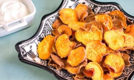 Chips de camote
