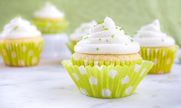 Cupcakes de limón con betún de queso mascarpone