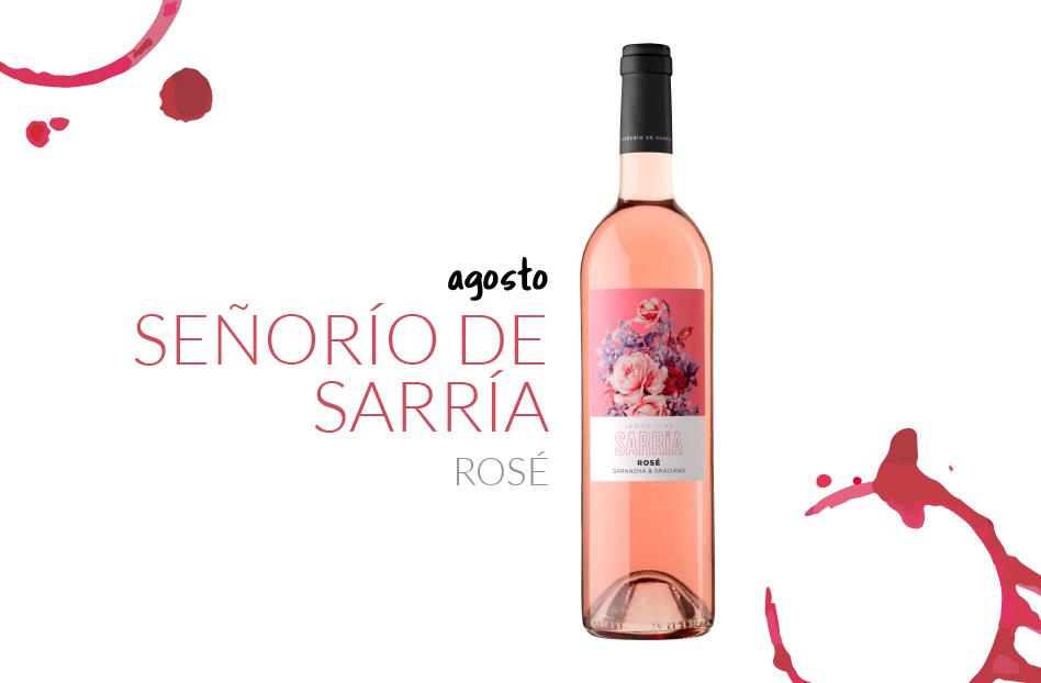 Agosto: Señorío de Sarría Rosé