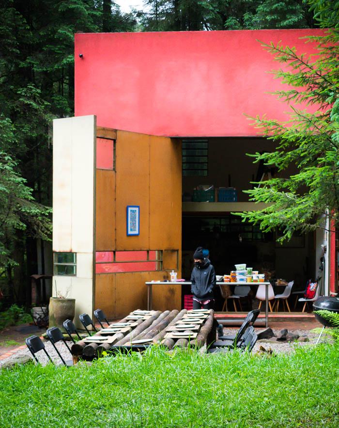 Cubo, un restaurante en el bosque cerca de la cdmx
