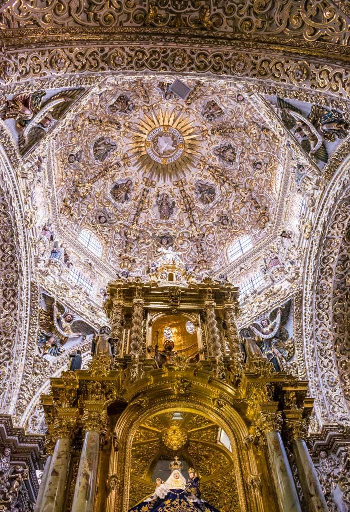 Escapada de fin de semana en Puebla, capilla del rosario