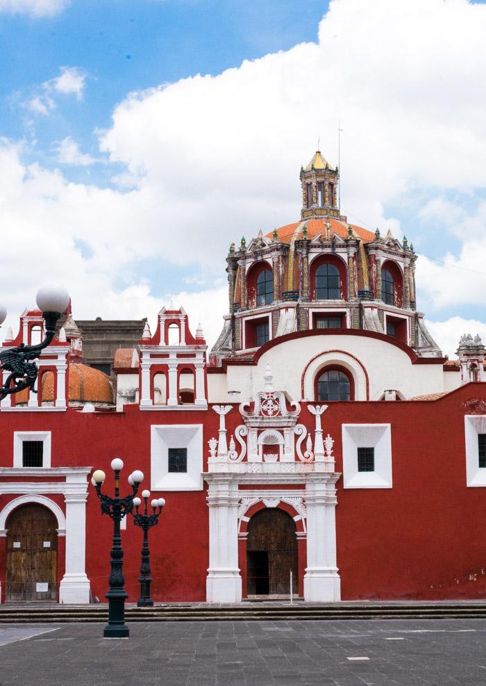 Escapada de fin de semana en Puebla, Templo de santo domingo