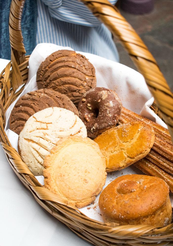 Pan dulce típico en Atlixco