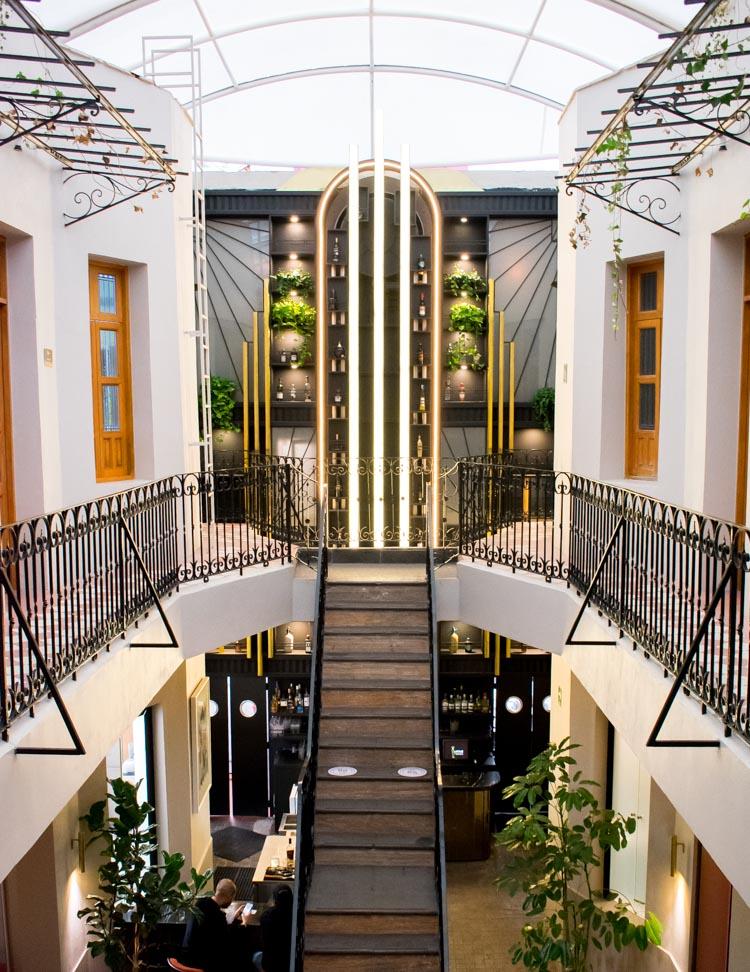 Casa Prunes, colonia Roma, bar y restaurante