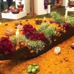 Los altares del día de muertos en Michoacán