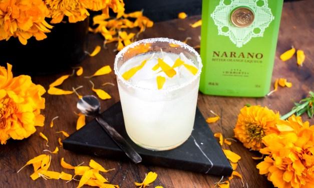 Margarita de muertos con Narano, licor de naranja mexicano