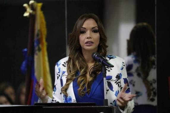 Dra Debora Valera Pdta del Cluster Marítimo Venezolano