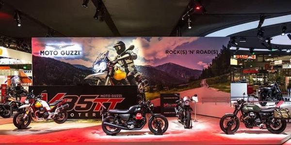 Moto Guzzi se pone de manteles largos en el Salón de Milán