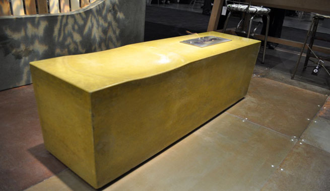 Sticks Stones Furniture Interior Design ~ Muebles reciclados de madera y cemento revista