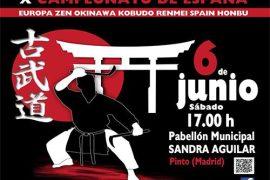 X Campeonato de España de Kobudo en favor de la lucha contra el cáncer 2