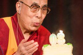 Ayer el mundo celebró el 80º ANIVERSARIO del DALAI LAMA 1