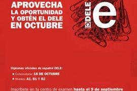 Instituto Cervantes: última semana de plazo de inscripción DELE