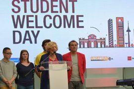 Madrid se convierte en la primera ciudad de Europa que celebra un acto oficial de bienvenida para estudiantes extranjeros 2
