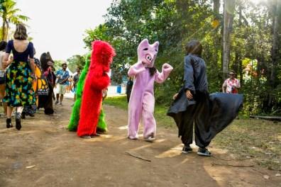 Atrações do Guaiamum Treloso em Aldeia. (Fotos: Tsuey Lan Bizzochi)