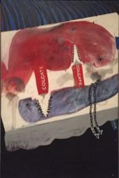 Cleaning Teeth, Early Evening (10pm) W11, David Hockney, 1962.