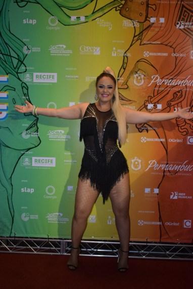 Michelle Melo, no Frevália.