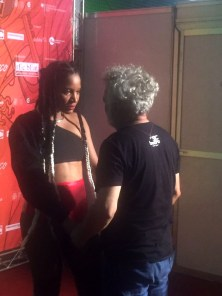 Larissa Luz conversa com Antonio Gutierrezm, produtor do Rec-Beat.