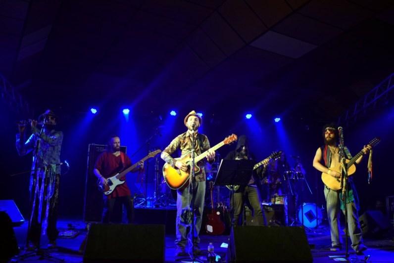 A banda pernambucana 70mg, que misturou ritmos regionais com o metal.