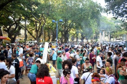 Marcha teve um dos seus maiores públicos. (Jonatan Oliveira/OGrito!).