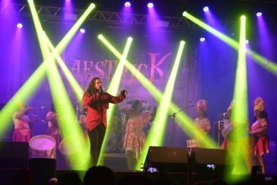 A banda Maestrick levou um maracametal ao palco (mas não agradou muito).