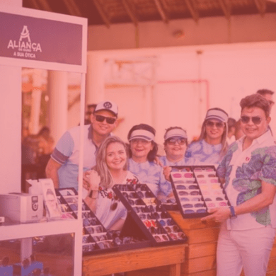 Aliança de ouro apresenta lançamentos de óculos das marcas Aviador, Riviera e Evolution