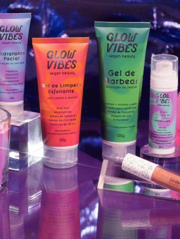 Glow Vibes apresenta produtos com ingredientes naturais sem abrir mão de ativos inovadores