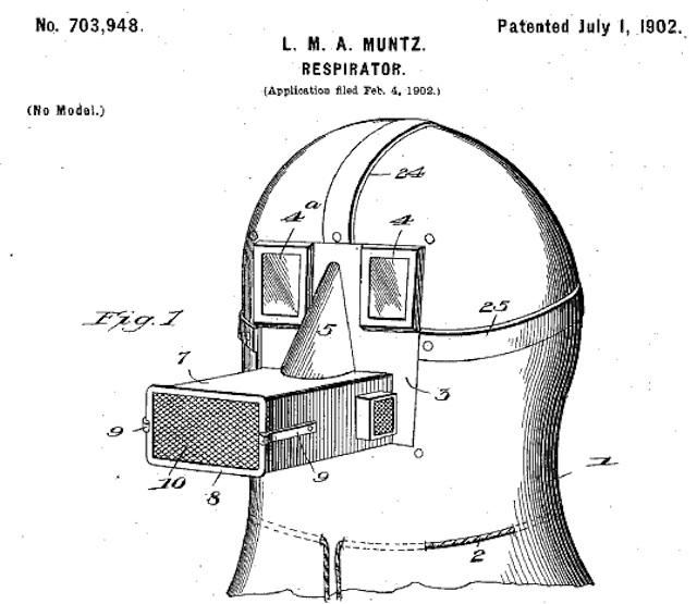 Muntz Respirator 1902