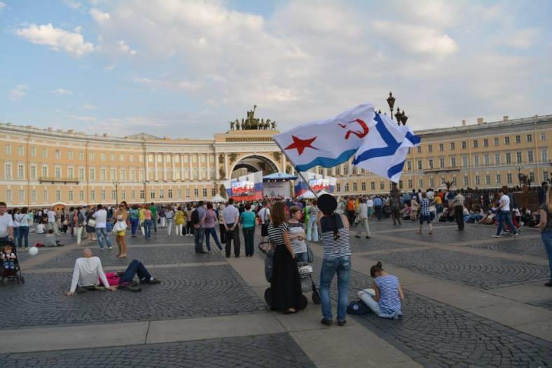 8 festejos del dia de la marina en San Petersburgo