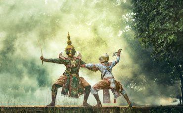 1 Khon – Dança tradicional tailandesa que reproduz cenas do Ramayana. Pxfuel.com