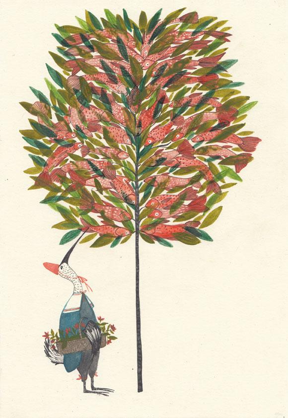 """""""l albero dei tonni 2 lres"""" Daniela Spoto (2017)"""