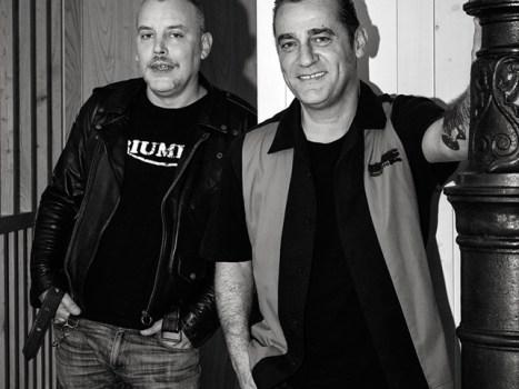 Lolo e Martin de Mad Martin Trío. Foto: Iván Barreiro