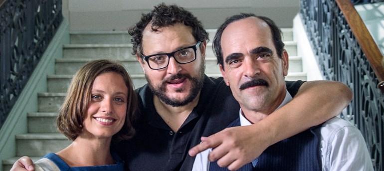 Michelle Jenner, Dani de la Torre e Luis Tosar. Foto: LucíaFaraig