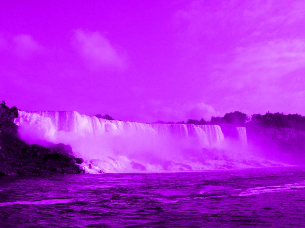 Las Cataratas Del Niagara Se Iluminaron Purpura En El Dia De La Muerte De Prince Revista Playlist