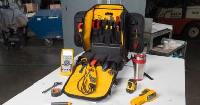 Fluke apresenta mochila para armazenar ferramentas profissionais