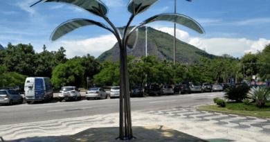 Mobiliário com filme fotovoltaico